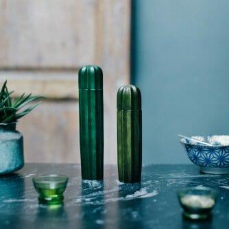 Cactus peper- en zoutmolen voorkant