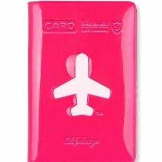 HF Shield Card Wallet roze
