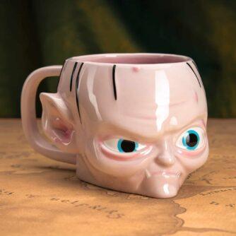 Gollum shaped mug