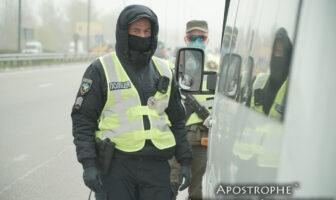 блокпост, КПП на Оболоні, Київ