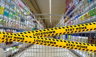 локдаун в магазинах