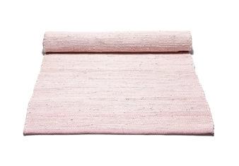 różowy Dywan bawełniany z recyklingu - Misty Rose 0041