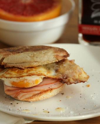 Spicy Maple Egg Sandwich by Runamok Maple