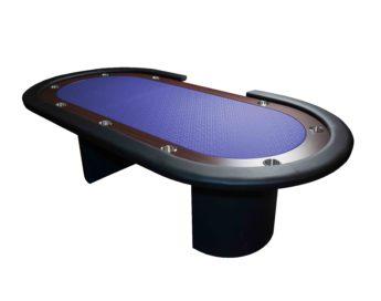 """Mesa de Juego Poker Azúl 96"""" Crupier"""