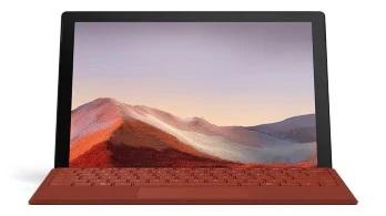 Microsoft Surface Pro 7.