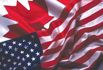 Flag: U.S. and Canada