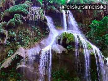 Водопады в Мексике