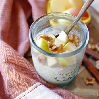 Apple Cinnamon Overnight Oats | One Dish Kitchen