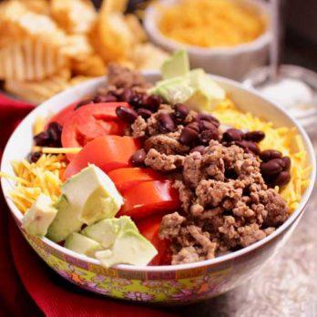 taco salad | one dish kitchen