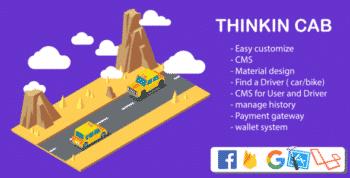 Thinkin Cab & Bike | book Car, Bike & auto | full IOS Iphone custom Code