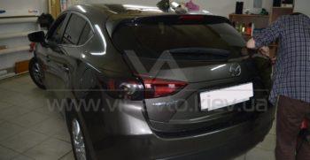 Тонировка фар на Mazda 3 фото 1