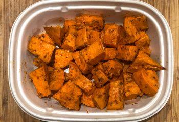 Roasted Sweet Potatoes a la Carte