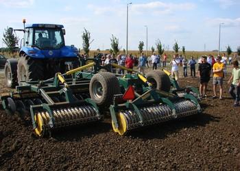 Képes, filmes előzetes összeállítás a FarmerExpo talajművelési bemutatójáról