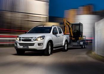 ISUZU D-Max vontatási kapacitás változás