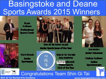 Basingstoke and Deane Sports Awards 2015
