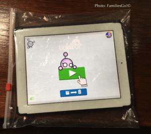 Ziplock bags protect electronics