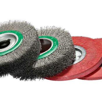 Escovas circulares e encapsuladas