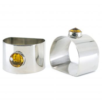 Glass, Silver Napkin Ring 2648LS Image1