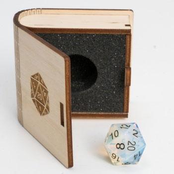 20 Vlakken Dice Gemstone Collectors Dice - Opalite 16mm