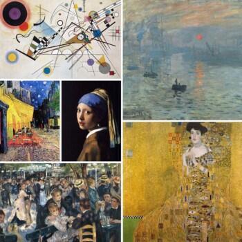 Die 21 beliebtesten Gemälde für Reproduktionen von Ölbildern der alten Meister
