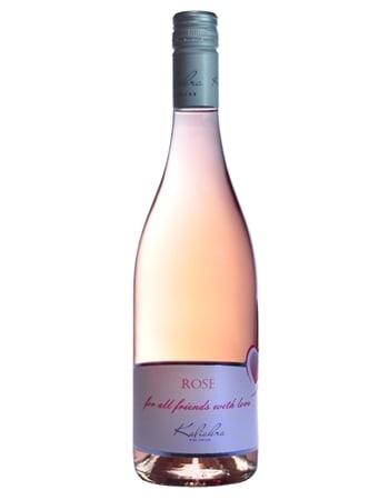 Вино розе от Изба Калиакра гр. Каварна - бутилка 750 мл.