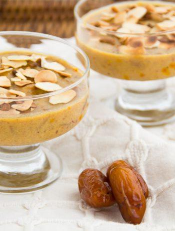 Date Pudding-Halwa – Χαλβάς/Πουτίγκα με Χουρμάδες