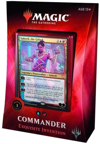 All Commander Precons List Exquisite Invention