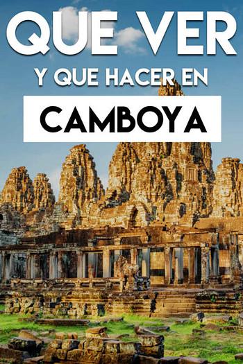 Qué ver y qué hacer en Camboya