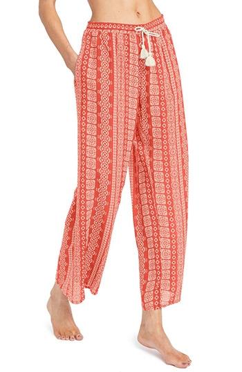 Robin Piccone beach pants | 40plusstyle.com