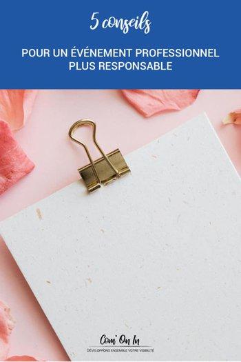 conseils organiser événement éco-responsable