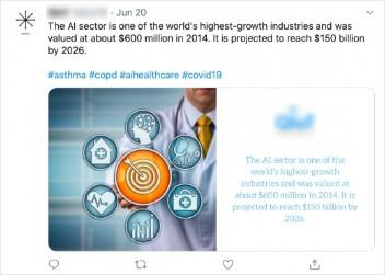 Content Social Media Post AI
