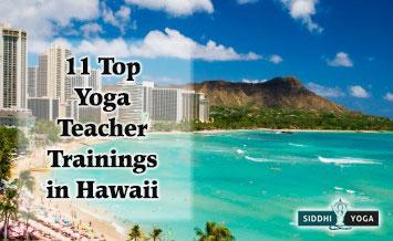 yoga teacher trainings in hawaii