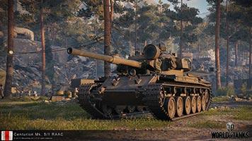 Успейте купить средний танк Центурион 5/1 для ворлд оф танкс, стоимость 990 руб.