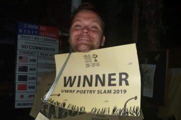 Vinder af #UWRF Poetry Slam 2019