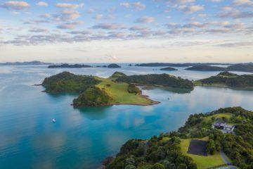 Bay of Islands north island New Zealand