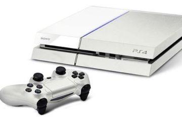 playStation 4 w kolorze białym