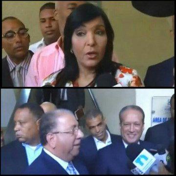 Altas dirigencias del PRM y PLD visitan detenidos por Odebrecht