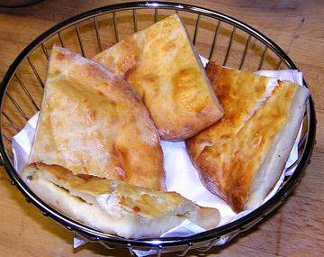 блюда грузинской кухни в Ванкувере,  Британская Колумбия Канада