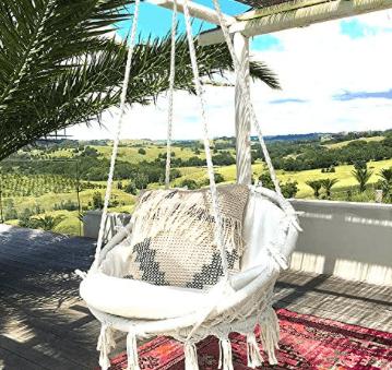 Sonyabecca Hammock Chair Indoor/Outdoor Lounging
