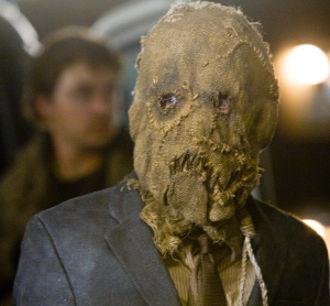 Cillian Murphy porte le masque de L'épouvantail dans Batman