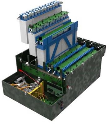 Figure 4. AMS inside the Accumulator Enclosure