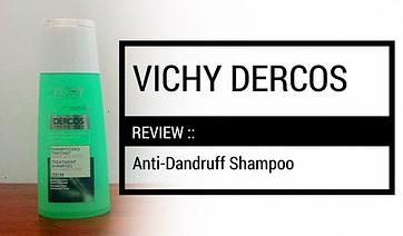 vichy dercos anti-dandruff shampoo