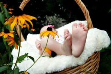 canastillas para bebé gratis
