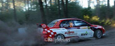 Erwin Klippel en Jouri Dockx - Mitsubishi Lancer Ev0 IX - GTC Rally 2019