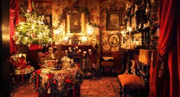 Рождественский ужин викторианской эпохи