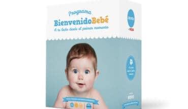 Canastilla para bebés gratis de Caprabo