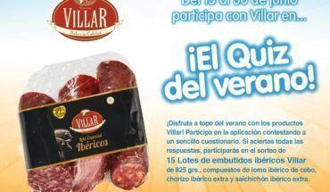 Sorteo Villar en Facebook