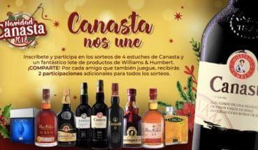 Sorteo productos Canasta