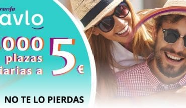 billetes AVE Renfe AVLO 5€
