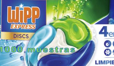 Muestras gratis wipp express